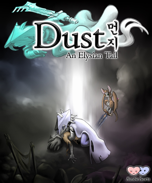 Cover for Dust: An Elysian Tail.