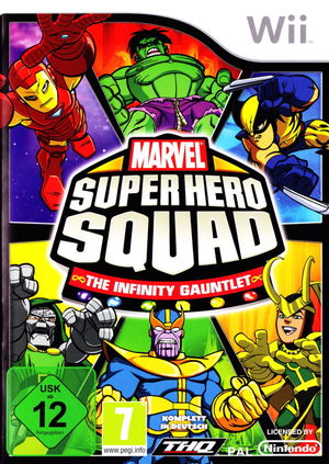 Cover for Marvel Super Hero Squad: The Infinity Gauntlet.