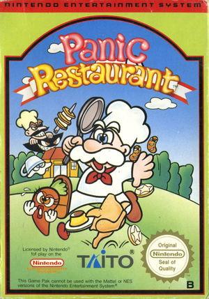 Cover for Panic Restaurant.