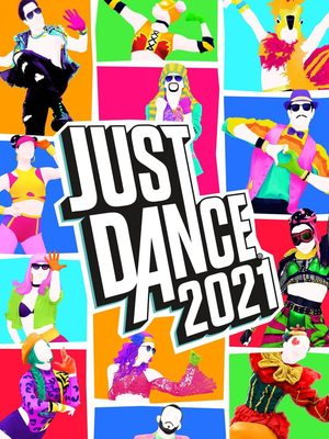 Cover for Just Dance 2021.