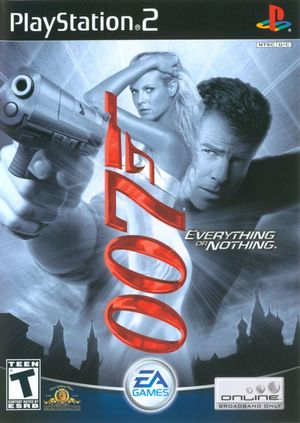 Cover for 007: Everything or Nothing.