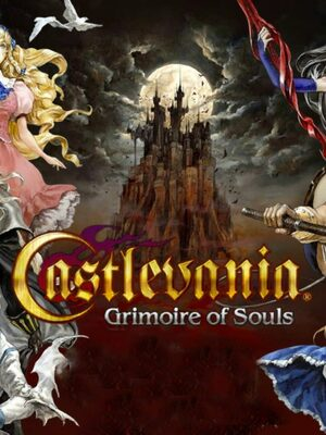 Cover for Castlevania: Grimoire of Souls.
