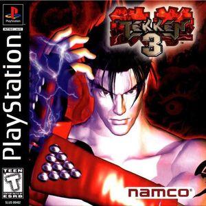 Cover for Tekken 3.