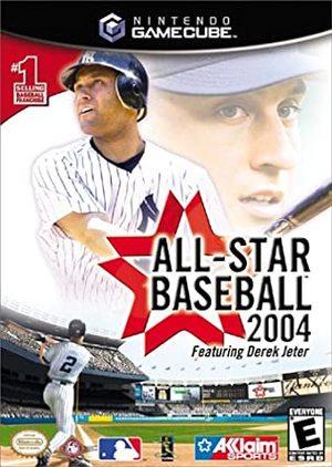 Cover for All-Star Baseball 2004.