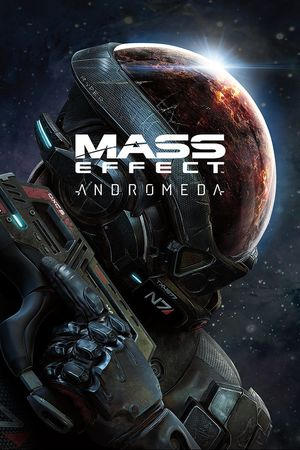 Cover for Mass Effect: Andromeda.
