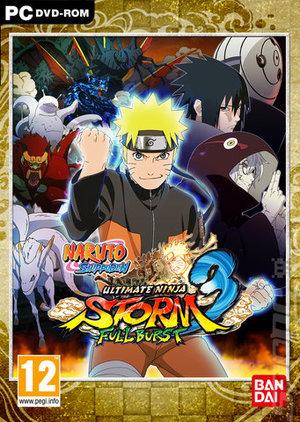 Cover for Naruto Shippuden: Ultimate Ninja Storm 3.