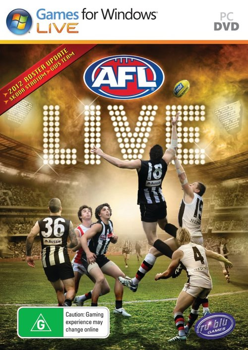 Cover for AFL Live.