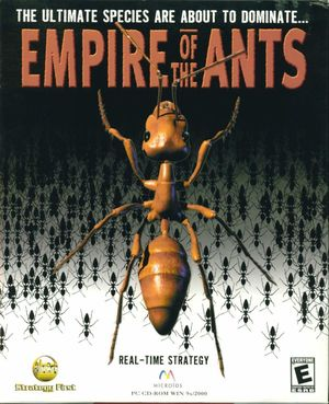 Cover for Empire of the Ants.