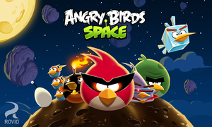 Cover for Angry Birds Space.