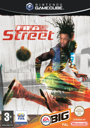 Cover for FIFA Street.