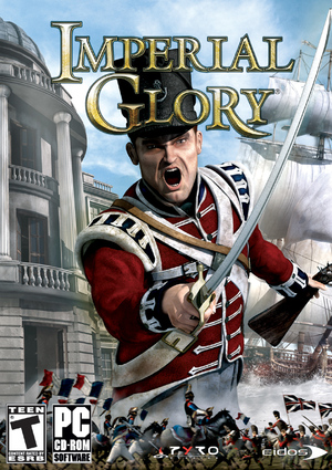Cover for Imperial Glory.