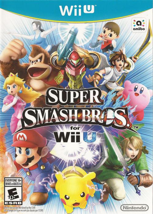 Cover for Super Smash Bros. for Wii U.
