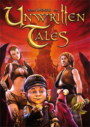 Cover for The Book of Unwritten Tales.