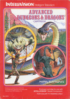 Cover for Advanced Dungeons & Dragons: Cloudy Mountain.