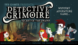 Cover for Detective Grimoire.