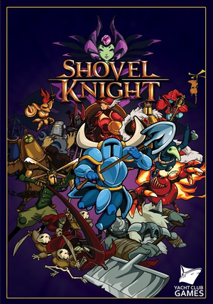 Cover for Shovel Knight.