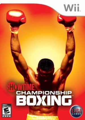 Cover for Showtime Championship Boxing.