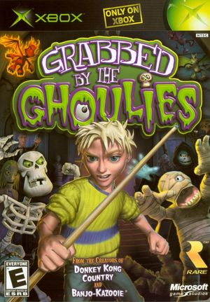 Cover for Grabbed by the Ghoulies.