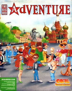 Cover for The Big Red Adventure.