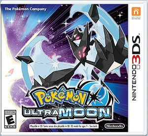 Cover for Pokémon Ultra Moon.