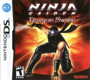 Cover for Ninja Gaiden: Dragon Sword.