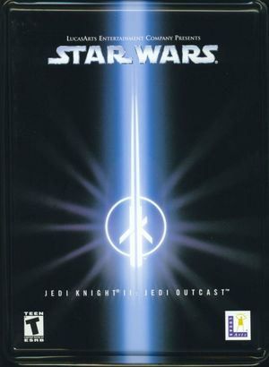 Cover for Star Wars Jedi Knight II: Jedi Outcast.