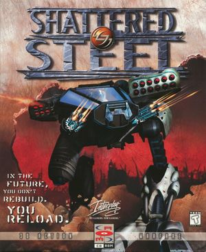 Cover for Shattered Steel.