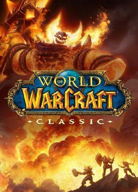 Cover for World of Warcraft Classic.