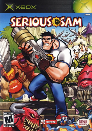 Cover for Serious Sam.