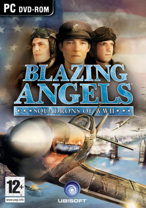 Cover for Blazing Angels: Squadrons of WWII.