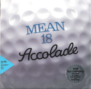 Cover for Mean 18.