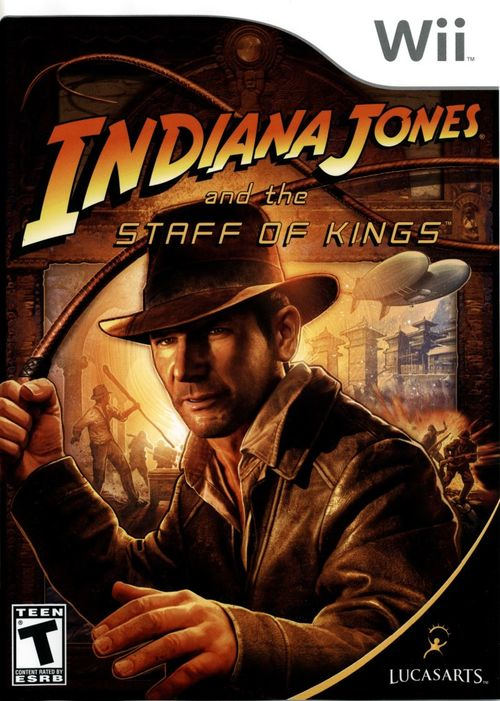 Cover for Indiana Jones and the Staff of Kings.