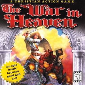Cover for The War in Heaven.