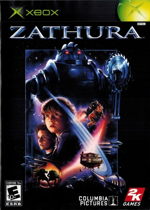 Cover for Zathura.