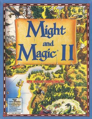 Cover for Might and Magic II: Gates to Another World.
