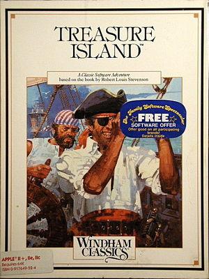 Cover for Treasure Island.