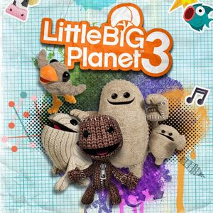 Cover for LittleBigPlanet 3.
