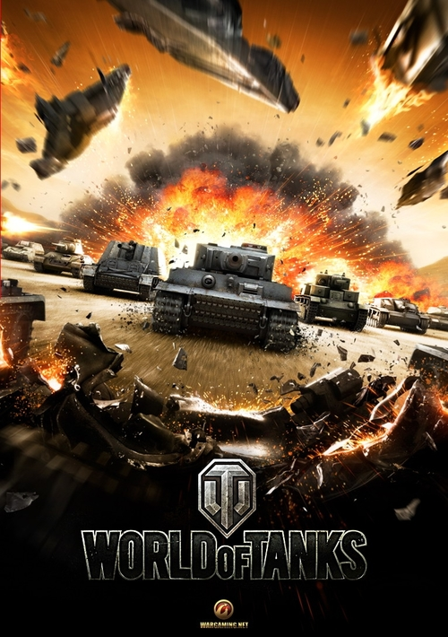 Cover for World of Tanks.