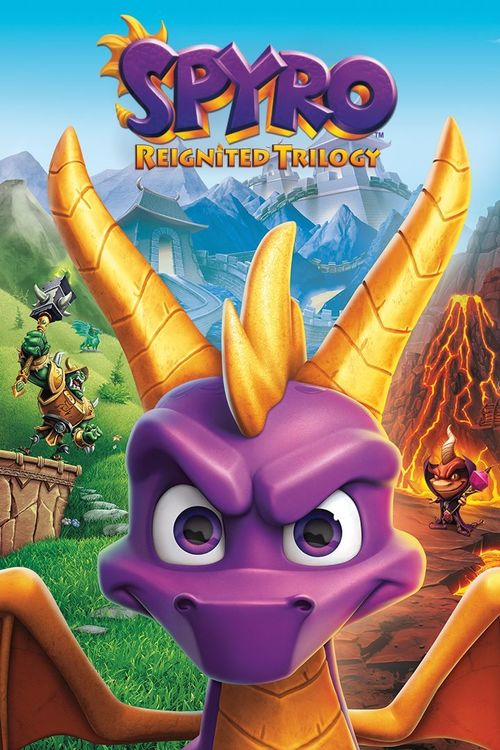 Cover for Spyro Reignited Trilogy.