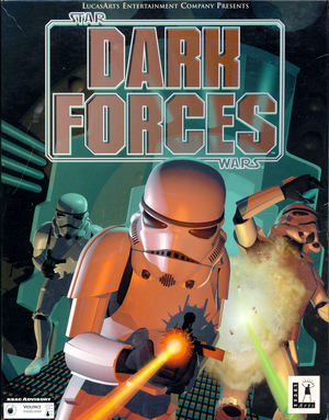 Cover for Star Wars: Dark Forces.