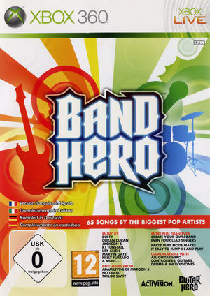 Cover for Band Hero.