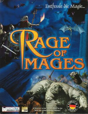 Cover for Rage of Mages.