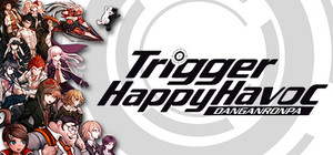Cover for Danganronpa: Trigger Happy Havoc.