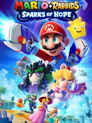 Cover for Mario + Rabbids Sparks of Hope.