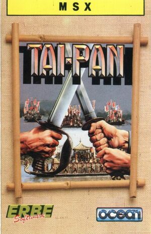 Cover for Tai-Pan.
