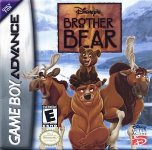 Cover for Disney's Brother Bear.