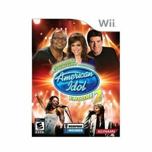 Cover for Karaoke Revolution Presents: American Idol Encore 2.