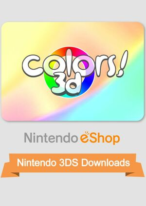 Cover for Colors! 3D.