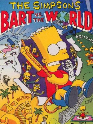 Cover for The Simpsons: Bart vs. the World.