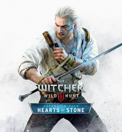 Cover for The Witcher 3: Hearts of Stone.